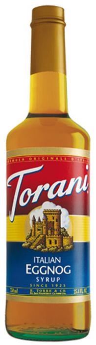 Torani Eggnog