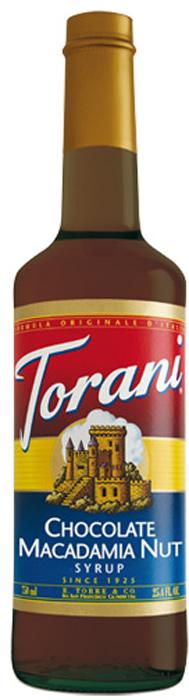 Torani Macadamia Nut Schoko