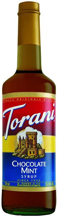 Torani Chocolate Mint