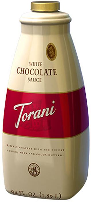 White Schokosauce Torani