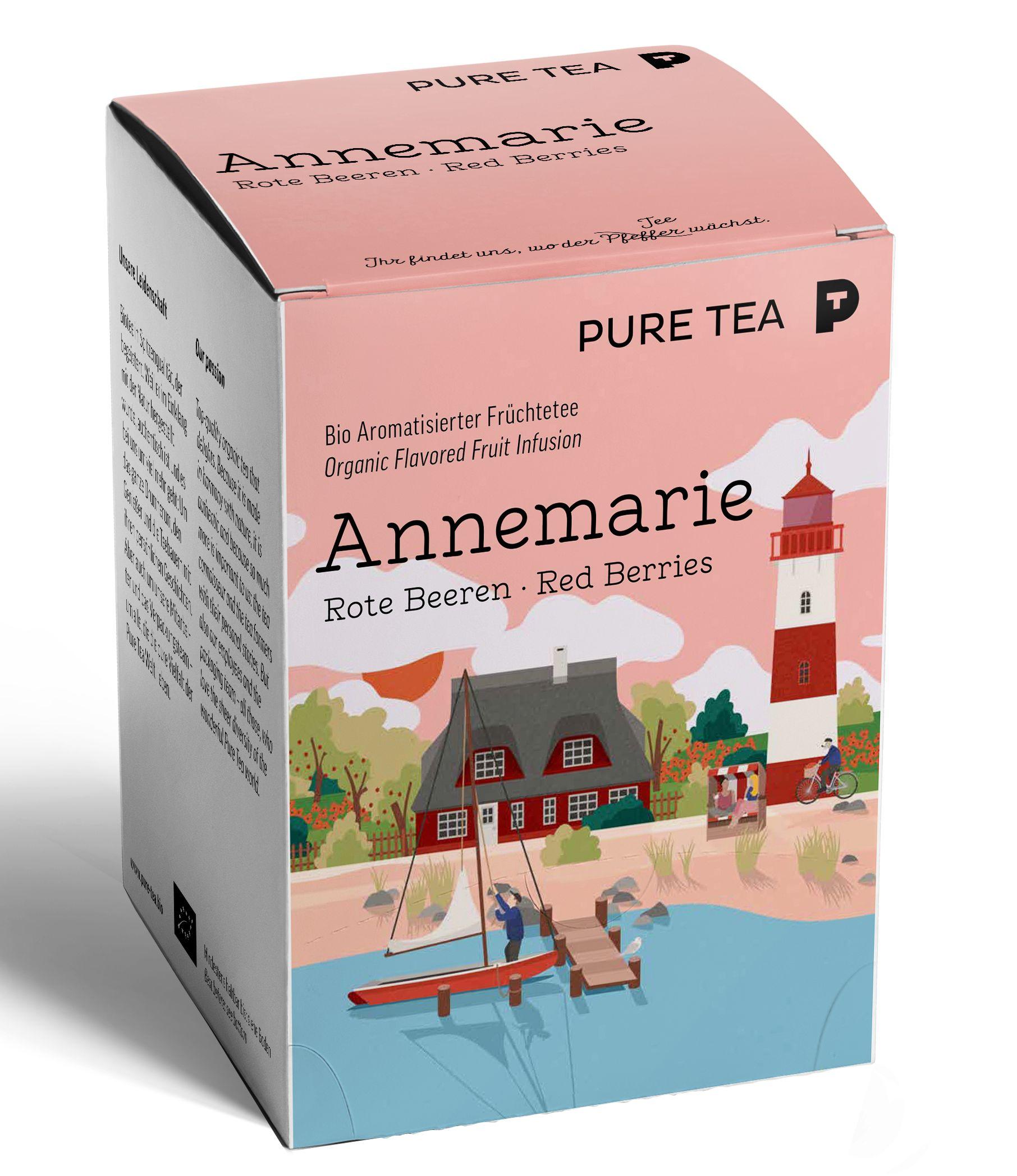Bio Puretea Pyra Früchtetee Annemarie