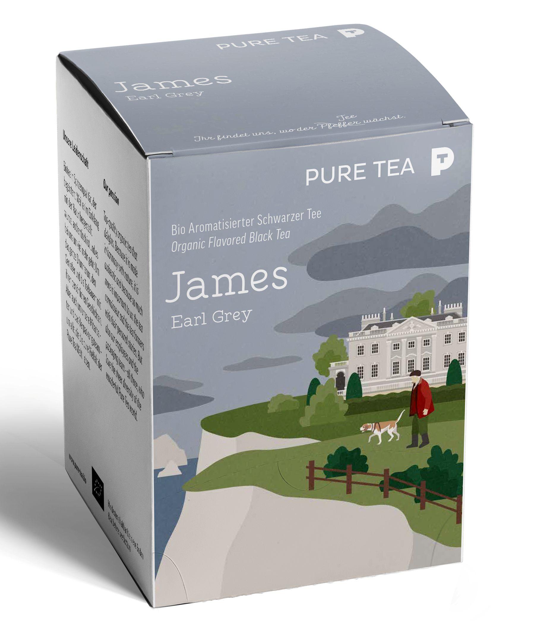 Bio Puretea Pyra Earl Grey James