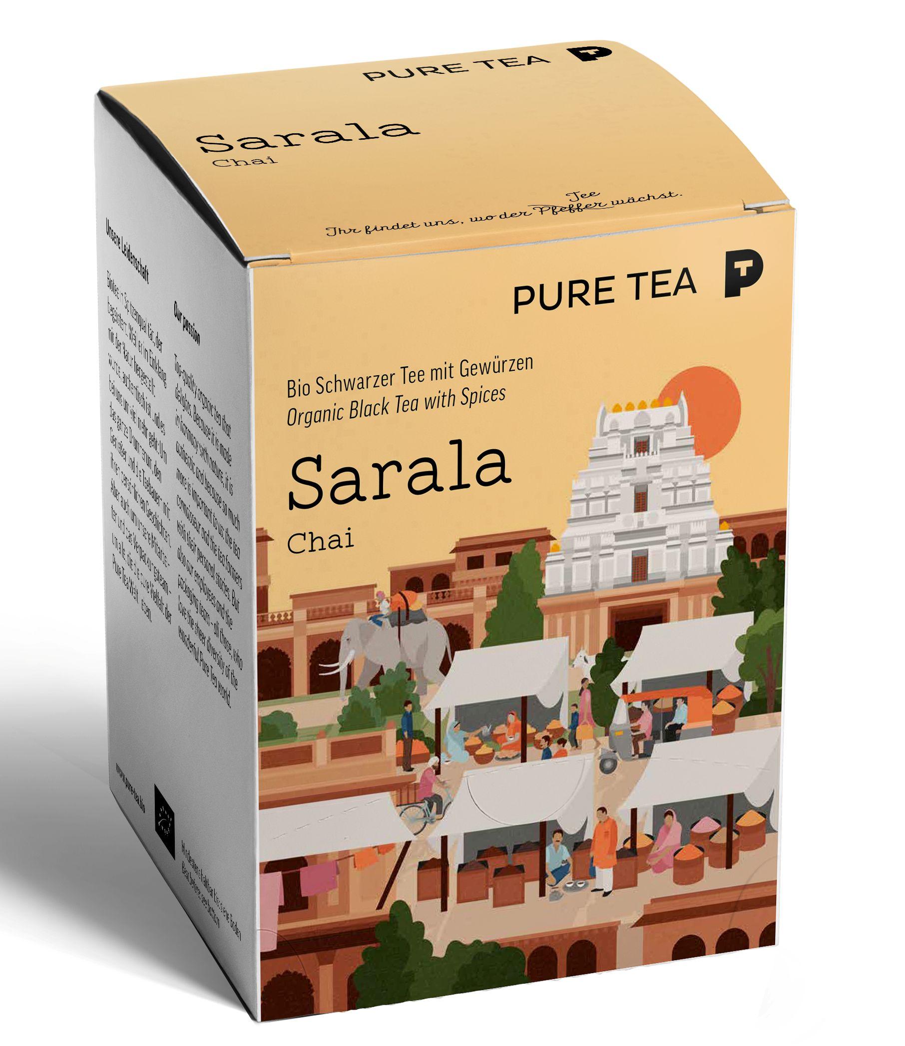Bio Puretea Sarala Chai
