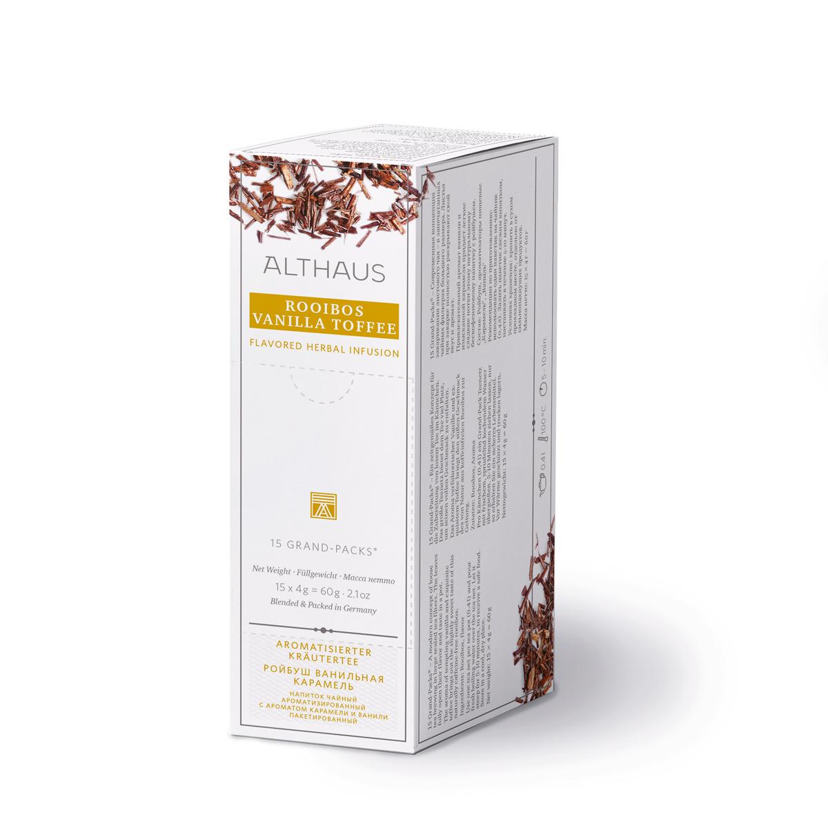 Rooibush Vanilla Toffee Grand Pack Kannenportion