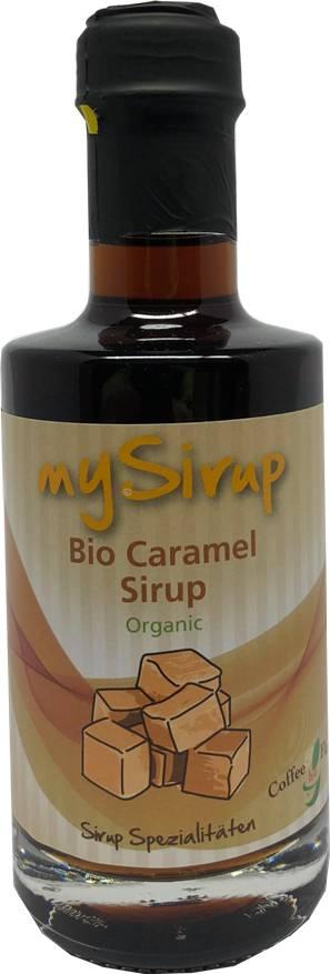 Bio Caramel 200 ml Design Flasche