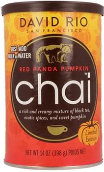 Red Panda Pumpkin Chai