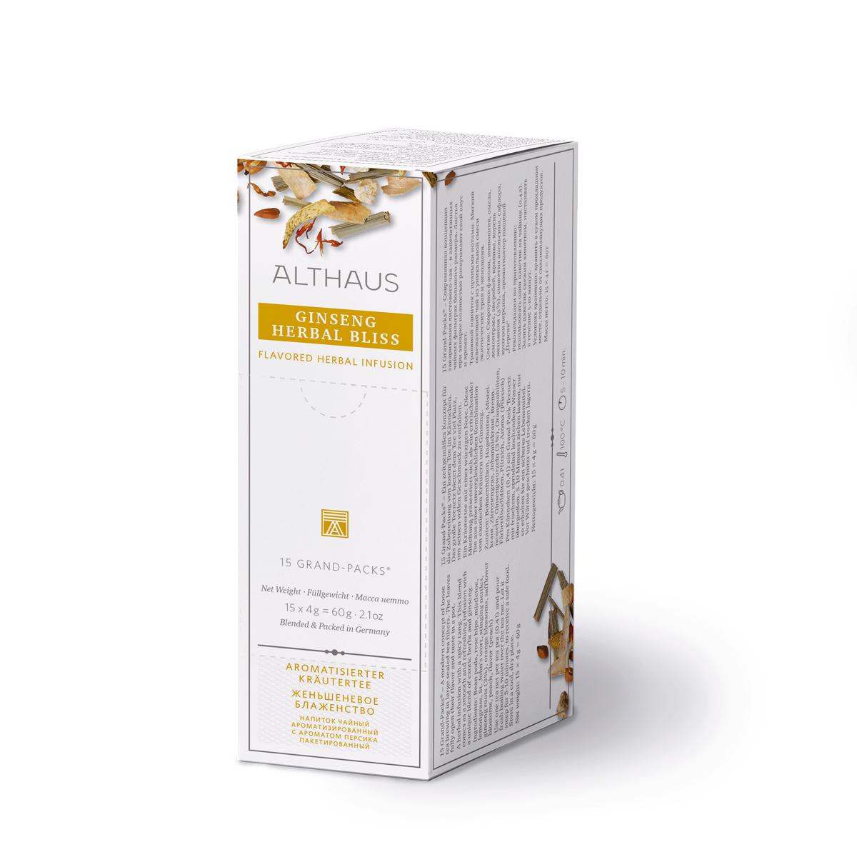 Ginseng Herbal Bliss Grand Pack Kannenportion