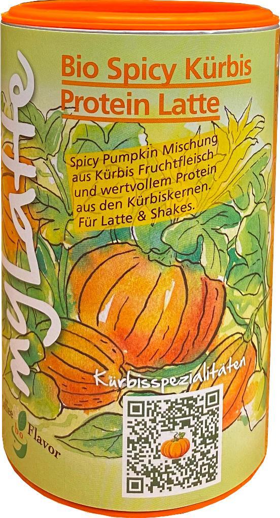 Spicy Kürbis Protein Latte