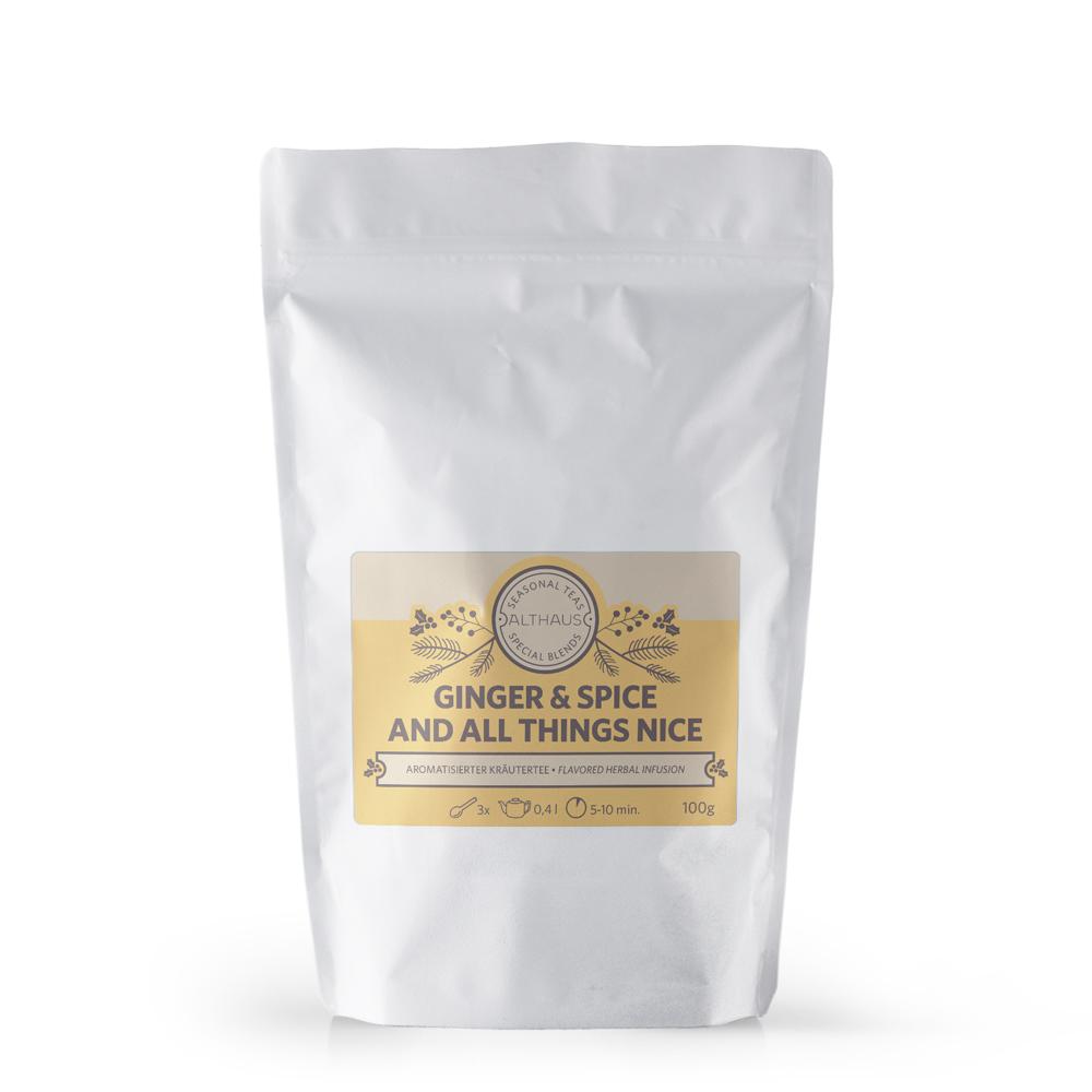 Althaus Wintertee Ginger & Spice
