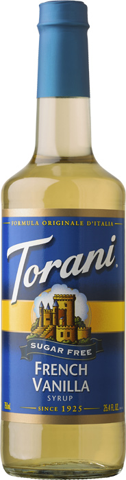 Torani French Vanilla SF