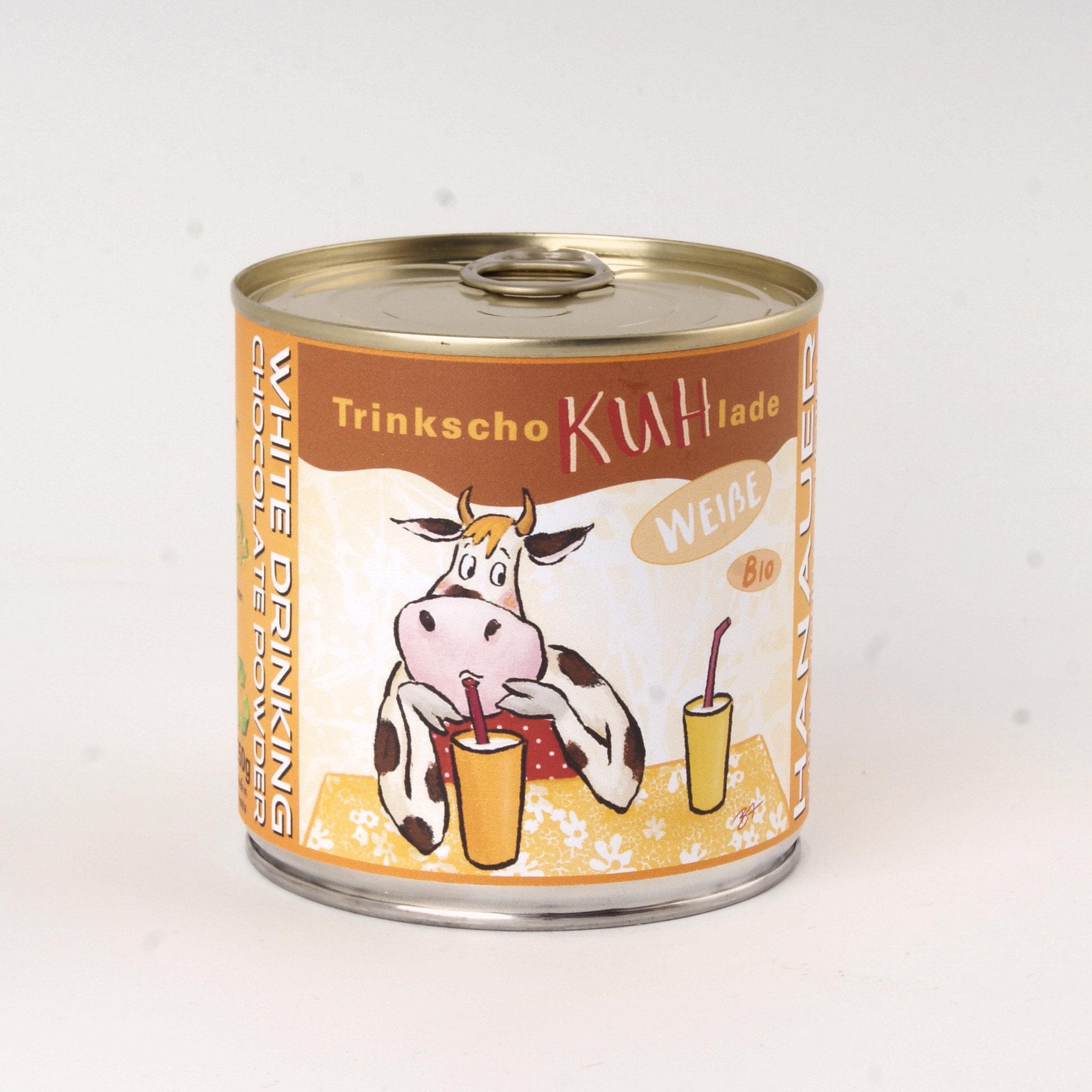 Bio Trink SchoKUHlade Weiss