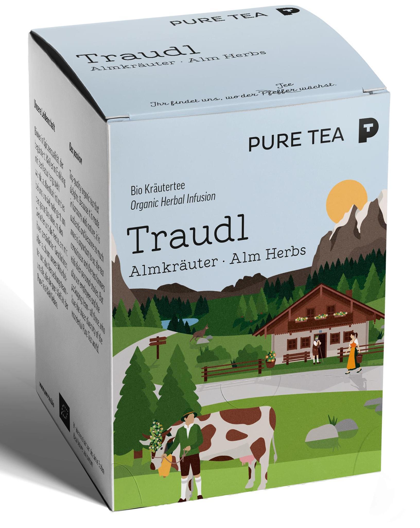 Bio Puretea Traudl Almkräuter